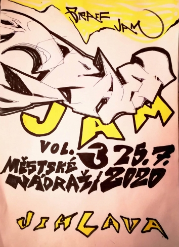 Jihlava GRAFFITI JAM vol. 3