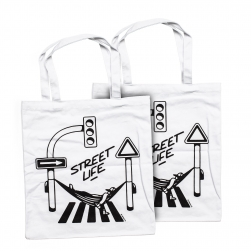 Montana bag - Street Life - by Form76 white