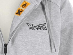 Montana Logo hooded zipper