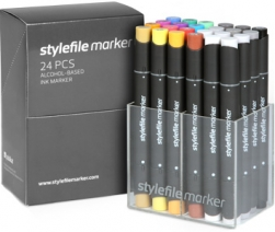 Stylefile Markers 24 Set - Main Set A