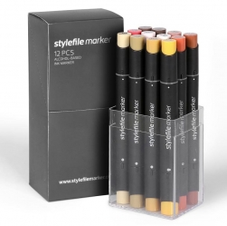 Stylefile Markers 12 Set - Terra Set