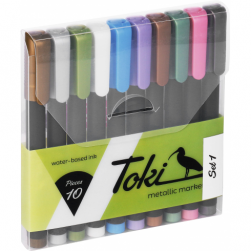 Toki Markers 10 - Metallic Set
