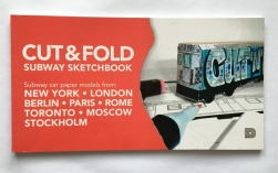 Subway Sketchbook - Cut and Fold